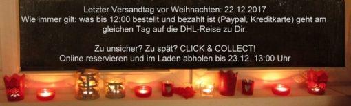 Wenn die Zeit nicht reicht - Click & Collect bei Baumwollseil.de